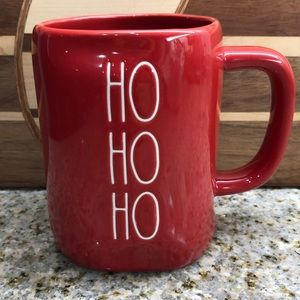 Rae Dunn hO HO HO Christmas Holiday Coffee Mug NEW